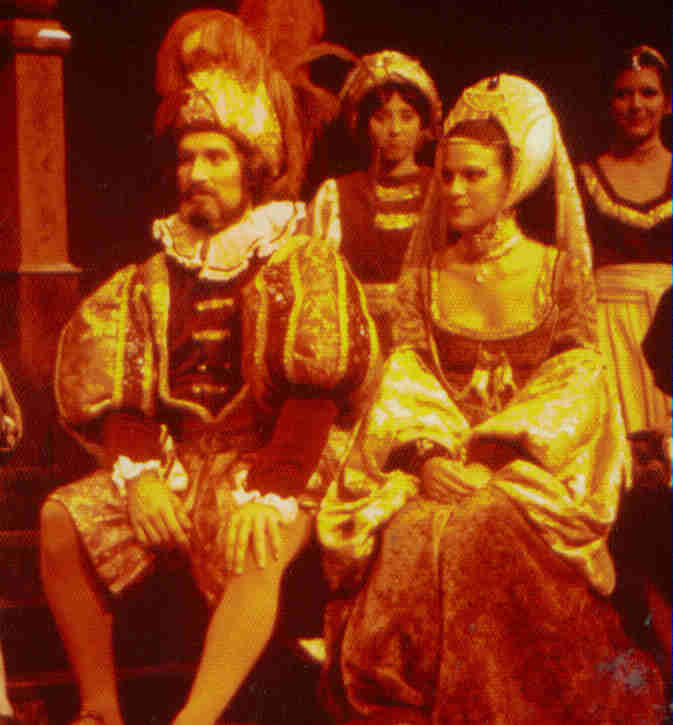 "Hippolyta, ""A Midsummer Night's Dream""; Virginia Shakespeare Festival 1979"