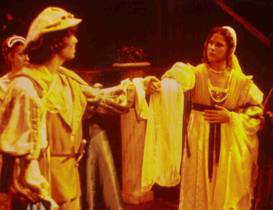 "Hero, ""Much Ado About Nothing""; Virgina Shakespeare Festival 1979"