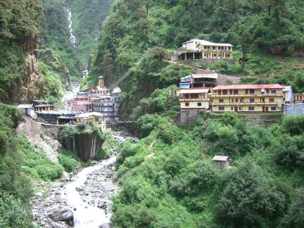 Yamunotri - the source of the Yamuna