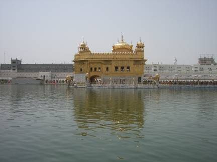 The Golden Temple of Amritsar